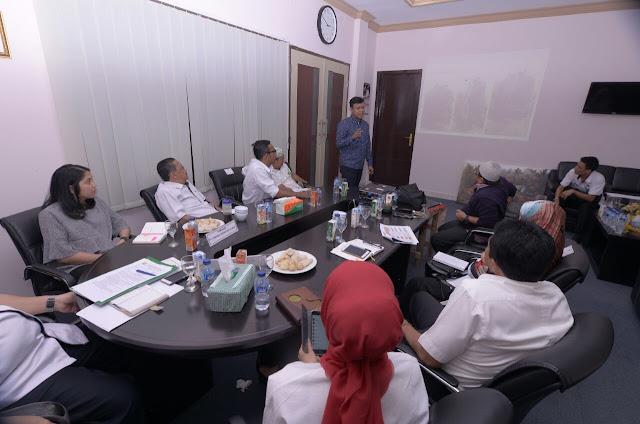 Pemkab Muba Dengar Paparan PT Jaya Trade Indonesia