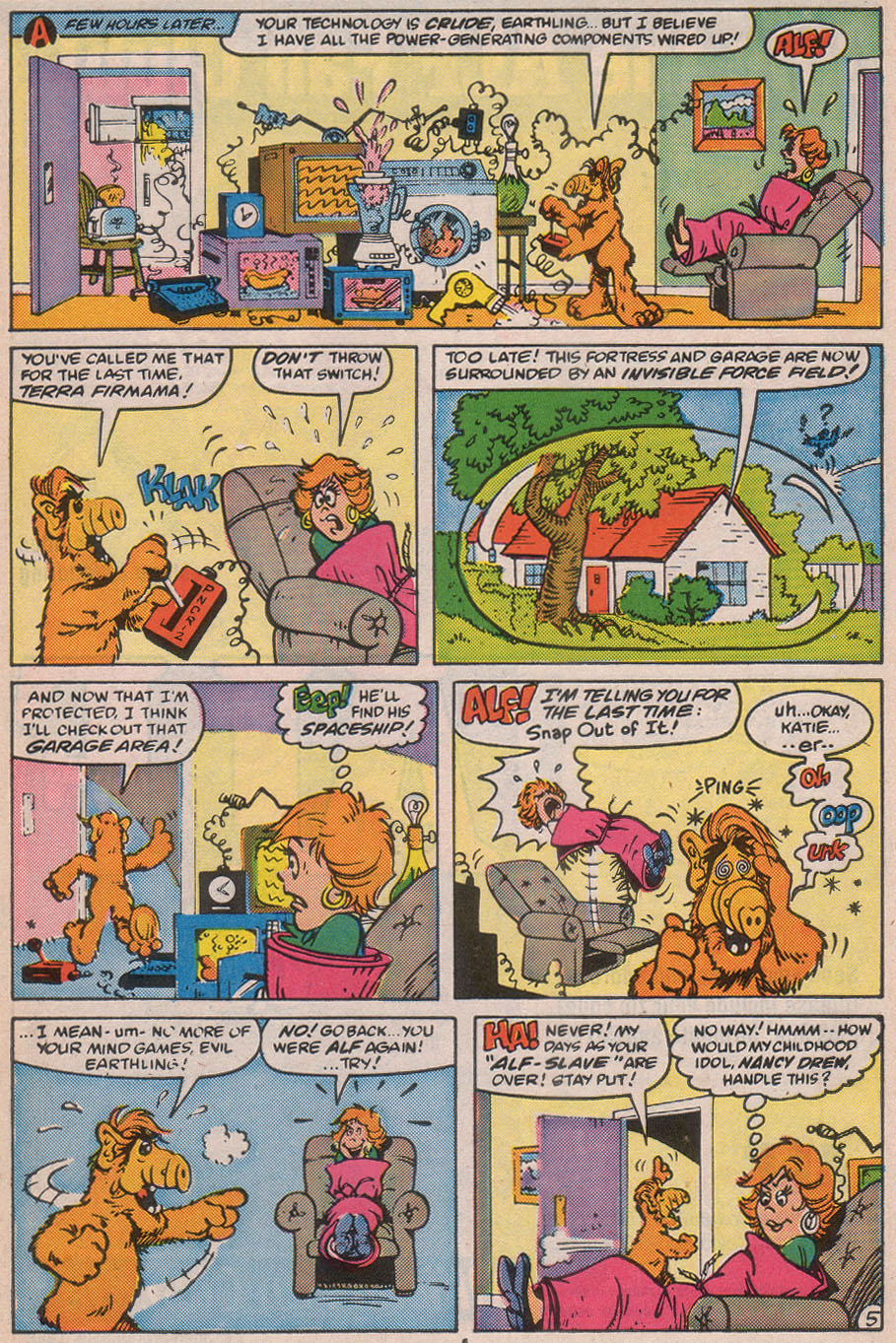 Read online ALF comic -  Issue #12 - 8