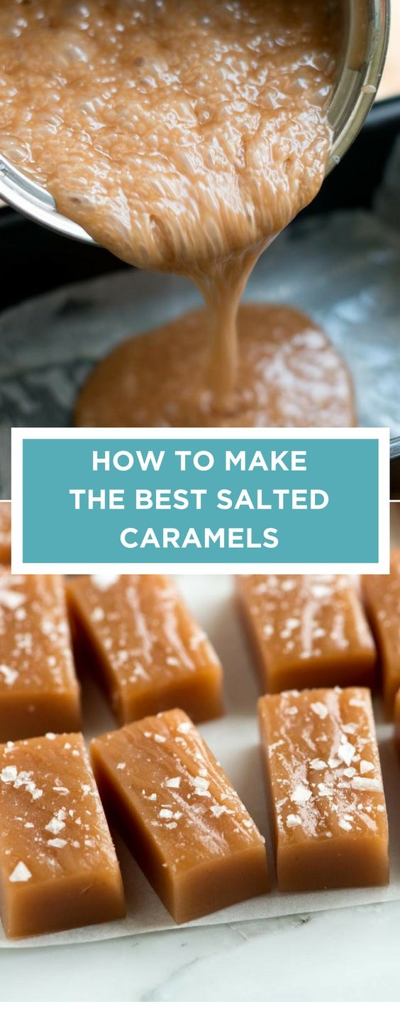 How To Make The Best Salted Caramels At Home
