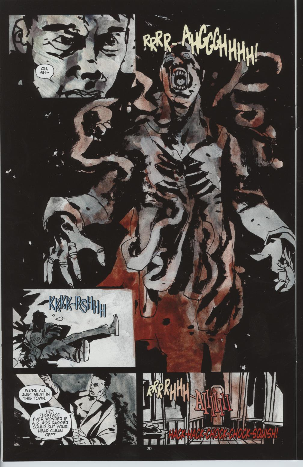Read online Silent Hill: Dead/Alive comic -  Issue #1 - 20