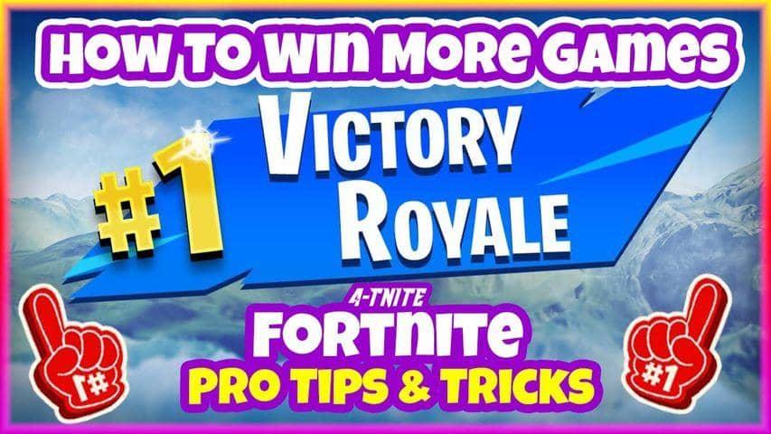 - fortnite tips tricks