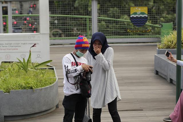 Jadi Baru Kebumen 2018 Tour To Bandung, Best Momen- foto di teras cihampelas bandung 7
