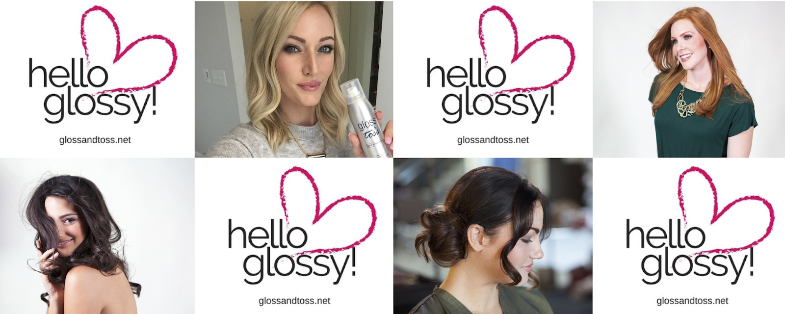 Be Glossy with the best Professional Hair Products by Gloss & Toss