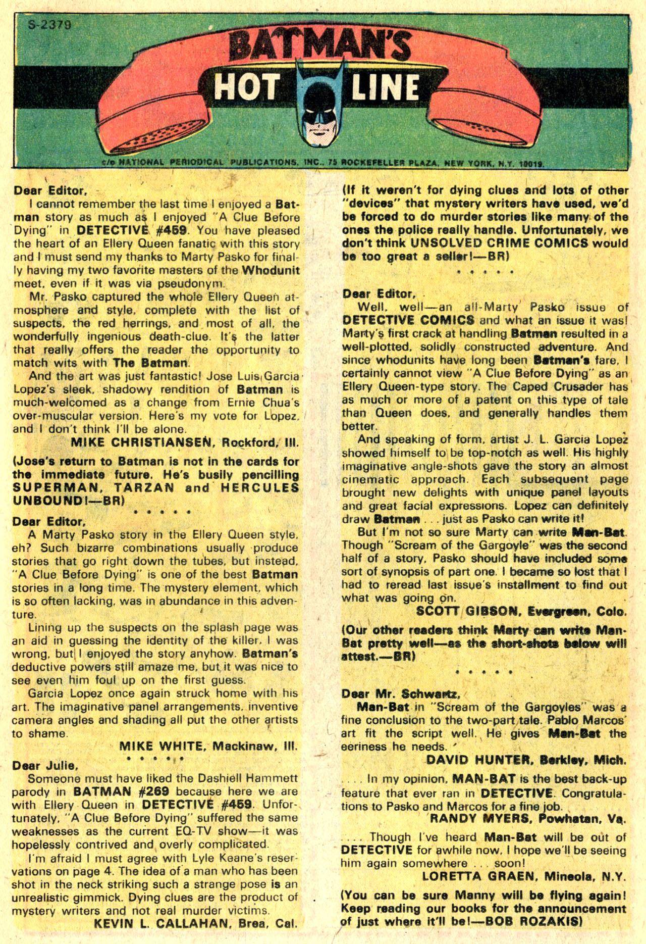Detective Comics (1937) 463 Page 32