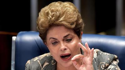 La presidenta suspendida de Brasil, Dilma Rousseff, comparece ante Senado para defenderse de los cargos en su contra, 29 de agosto de 2016.