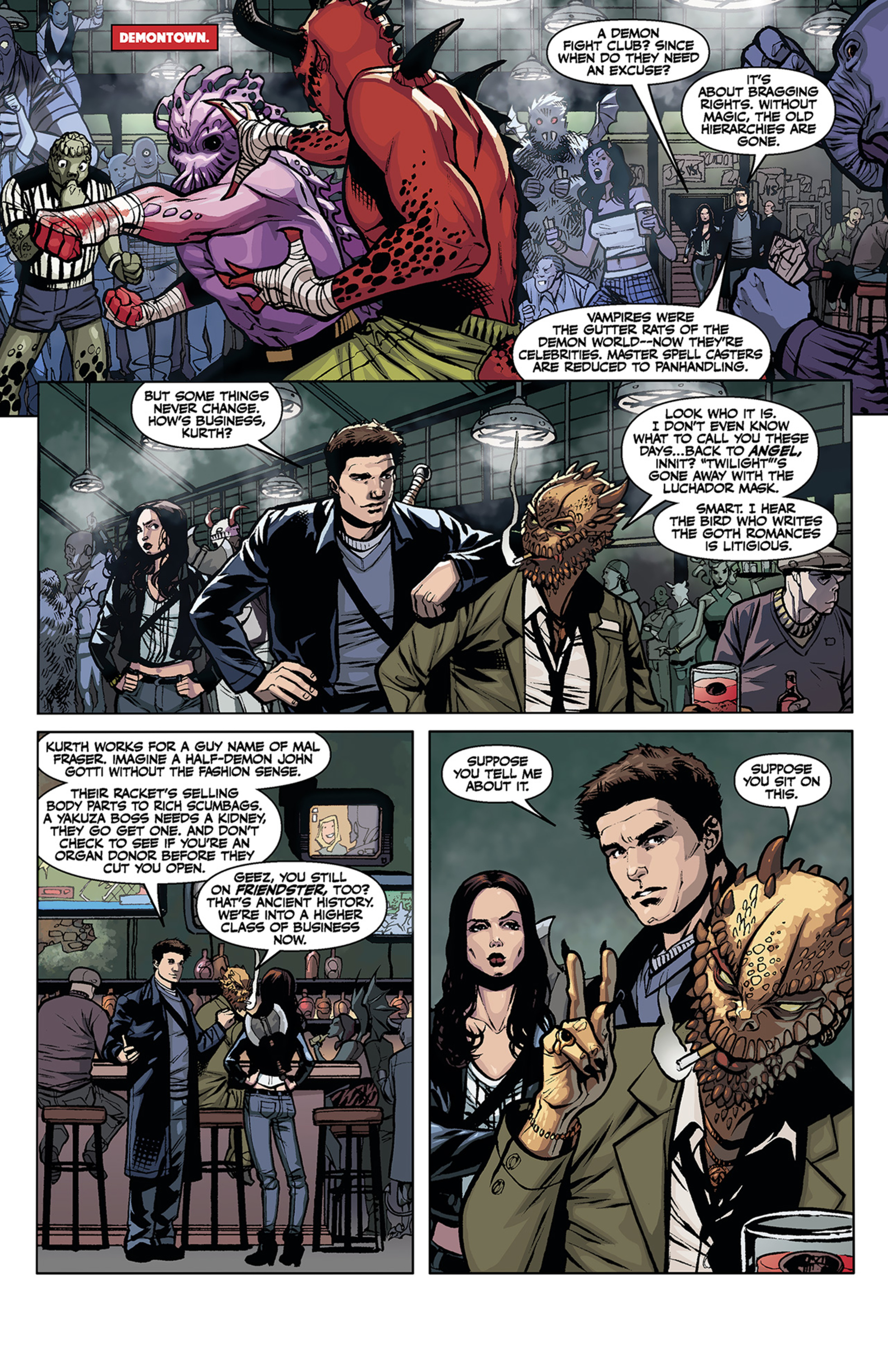 Read online Angel and Faith comic -  Issue #2 - 12
