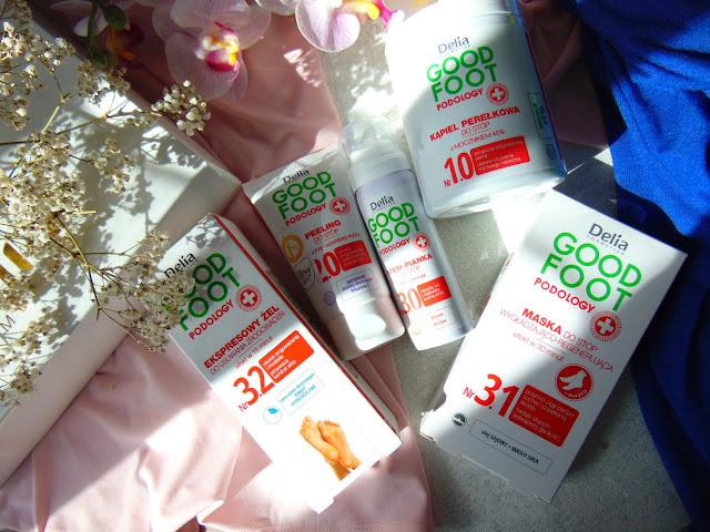 Good Foot Podology - Delia Cosmetics - Produkty do pielęgnacji stóp