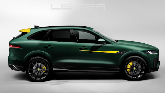 Lister tuned Jaguar F Pace SVR