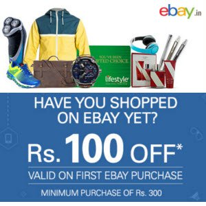 Get flat Rs 100 off on Rs 300
