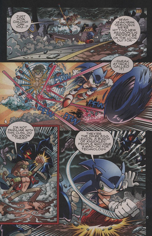 Read online Sonic The Hedgehog comic -  Issue #202 - 3