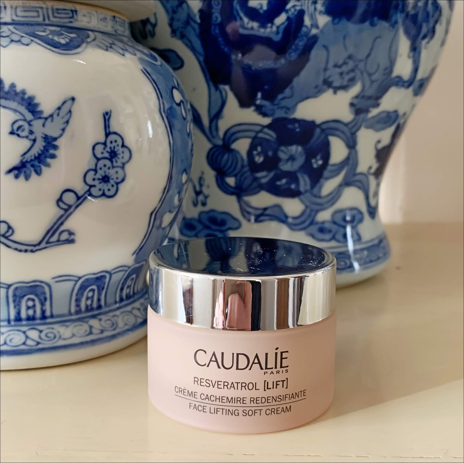 my midlife fashion, claudalie resveratrol lift face lifting soft cream