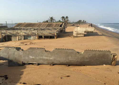 See Ghanaian School That Disappeared Into Sea [Photo]