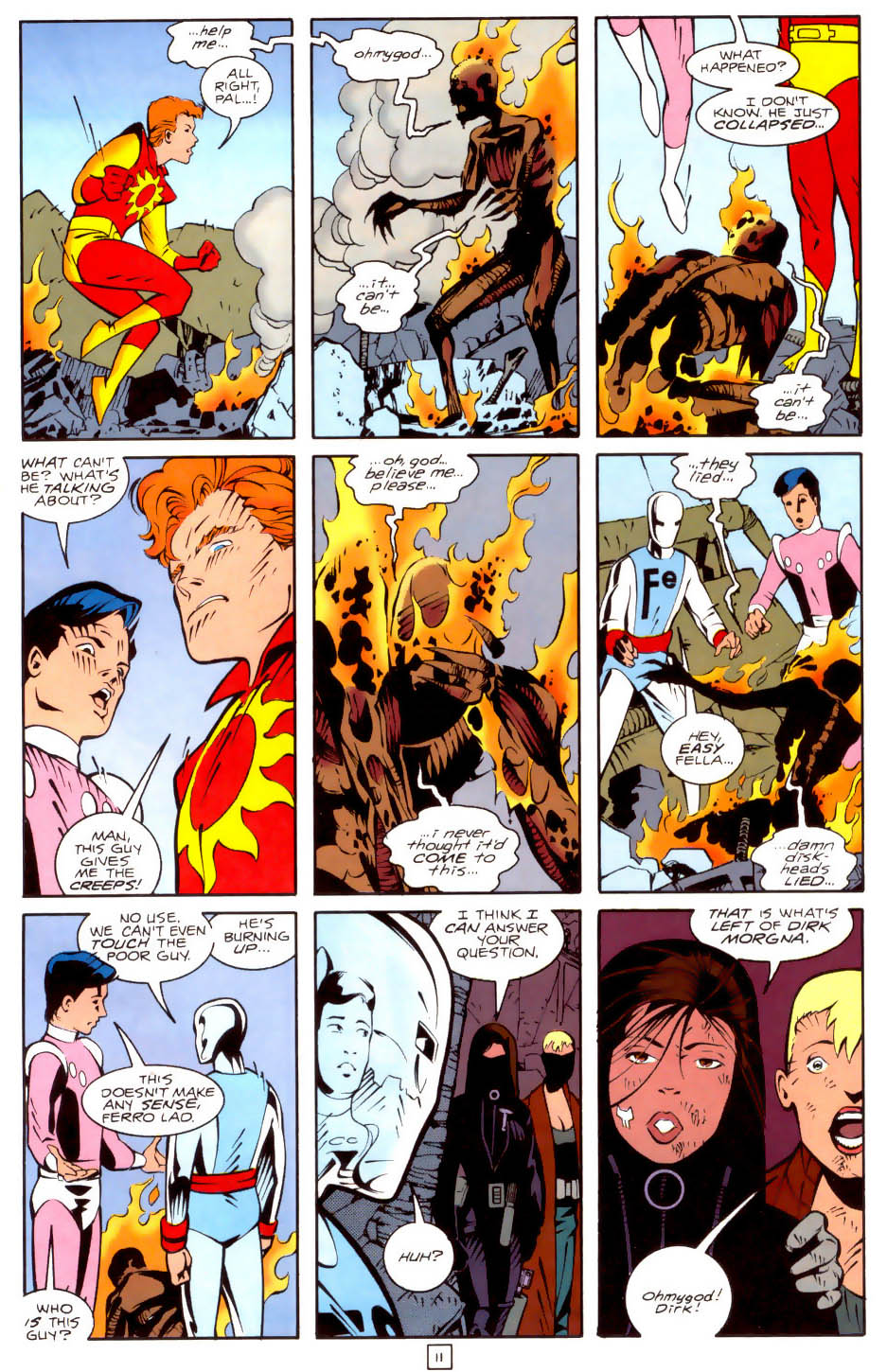 Legion of Super-Heroes (1989) 35 Page 11