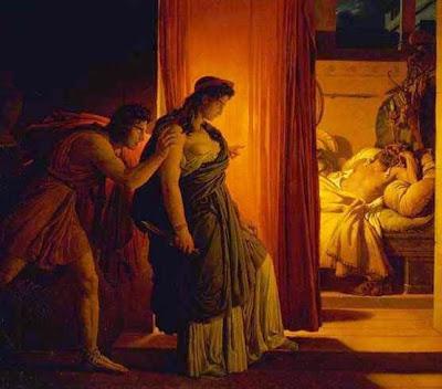 Agamemnonun Klytaimestra tarafından öldürülmesi