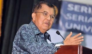 Wakil Presiden Jusuf Kalla : Memukul Guru Adalah Dosa BESAR
