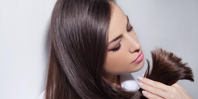 5 penyebab rambut wanita bercabang