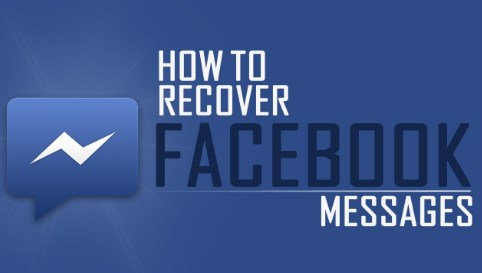 how to recover deleted facebook messages not archived