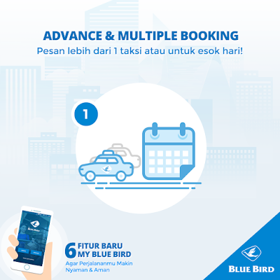 Advance and Multiple Booking my blue bird