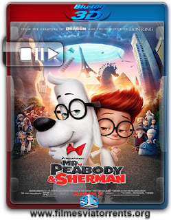 Mr. Peabody and Sherman Torrent - BluRay Rip 1080p 3D HSBS Legendado (2014)