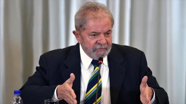"""Lula tacha de """"farsa y mentira"""" cargos de corrupción en su contra"""