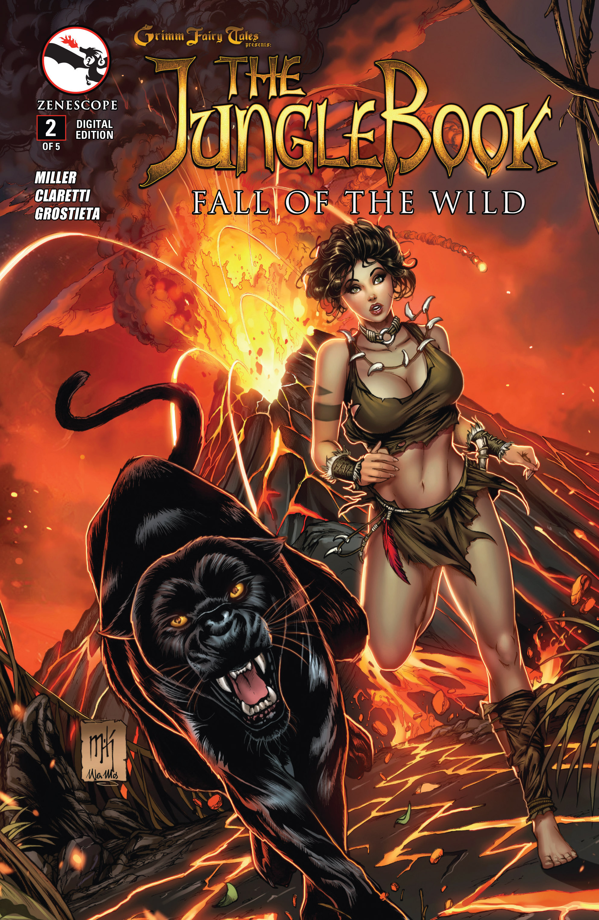 Grimm Fairy Tales presents The Jungle Book: Fall of the Wild 2 Page 1
