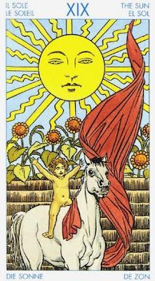 Arcano XIX- El Sol- Tarot Universal