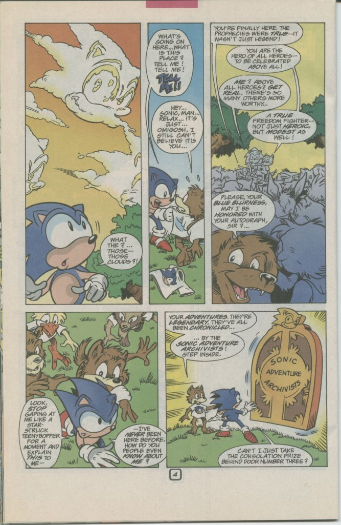 Read online Sonic The Hedgehog comic -  Issue #70 - 26