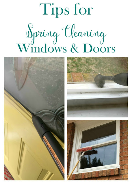 If your windows and doors are like mine, they probably need a good cleaning to remove the layer of grime winter weather has left. I am sharing my tips on how to give your windows and doors a deep clean inside and out!