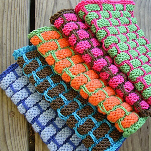 Ballband Dishcloth - Free Pattern