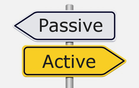 how to get rid of passive sentences