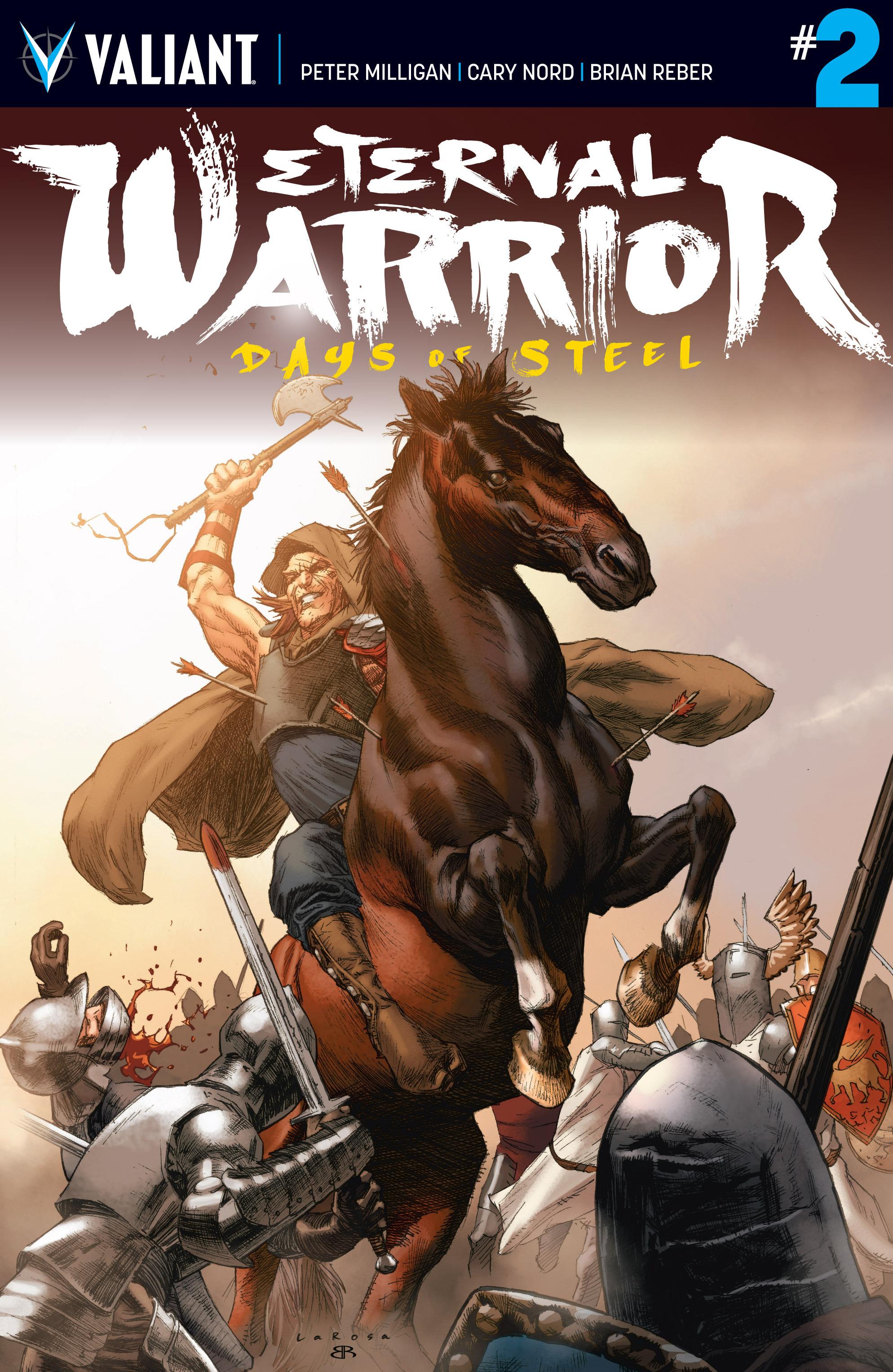 Read online Eternal Warrior: Days of Steel comic -  Issue #2 - 1
