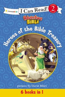 Heroes of the Bible Treasury - Pictures by: David Miles (Book Review)