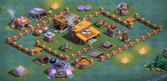 Base aula tukang clash of clans level 3
