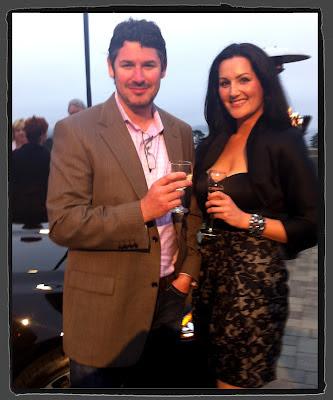 Stuart Schorr at Jaguar Playboy Party