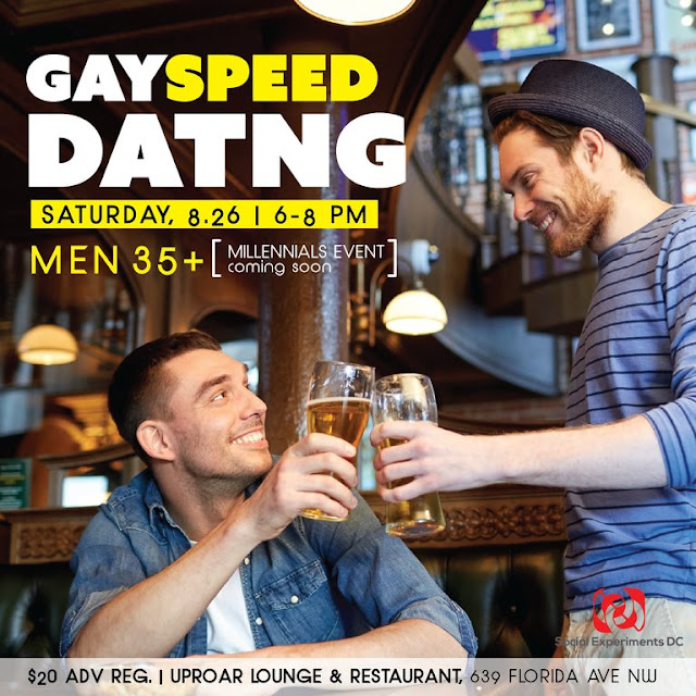 Gay Speed Dating Men 35+ (DC)