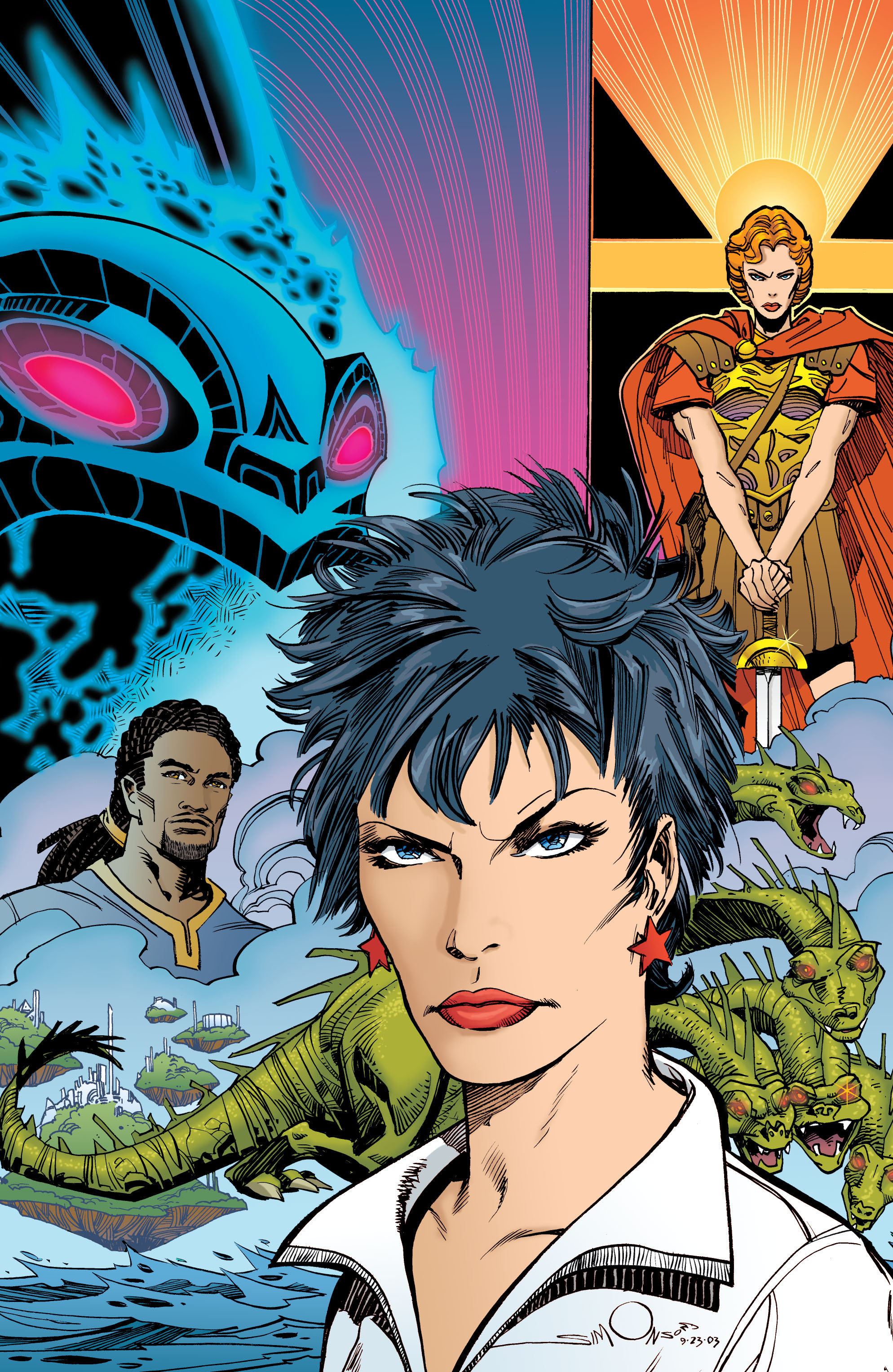 Read online Wonder Woman (1987) comic -  Issue #200 - 35