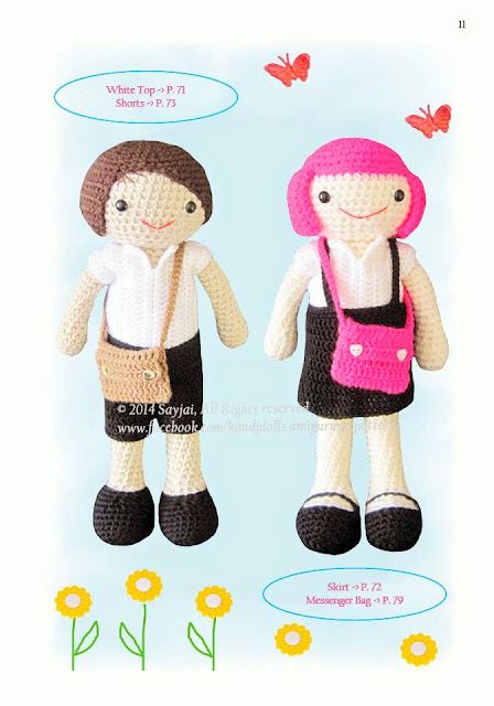 Doll Clothes {Free Crochet Pattern} | Crochet doll clothes free ... | 640x448