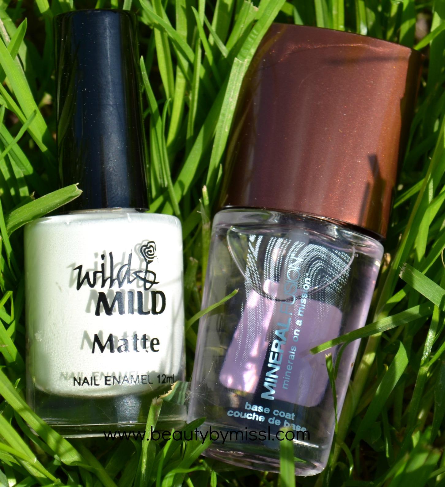 nail polish bottles