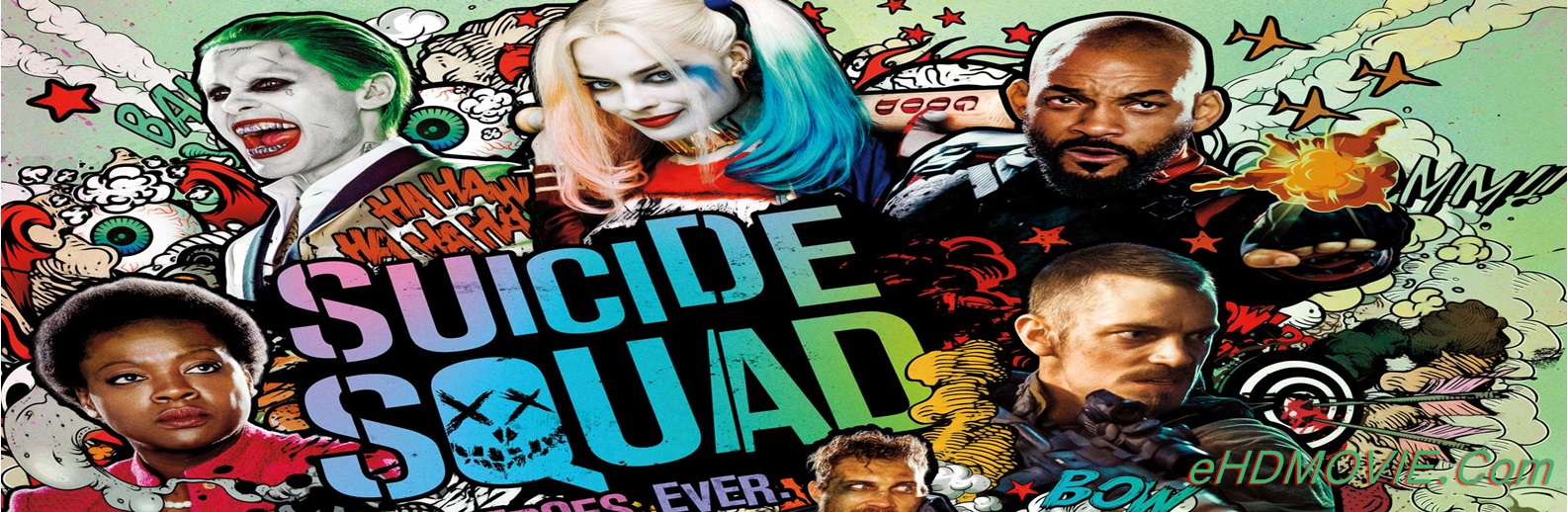 Suicide Squad 2016 Full Movie English 720p - HEVC - 480p ORG BRRip 450MB - 700MB - 1GB ESubs Free Download