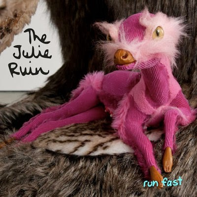 The 10 Best Album Cover Artworks of 2013: 04. Julie Ruin - Run Fast