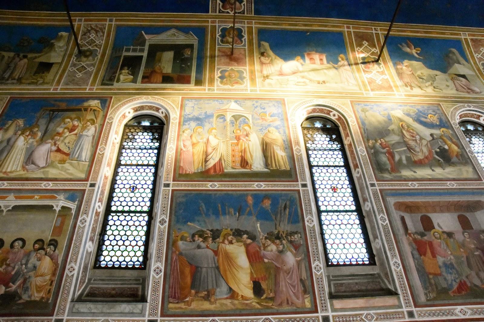 La cappella degli scrovegni a padova profumo di broccoli - La finestra padova ...