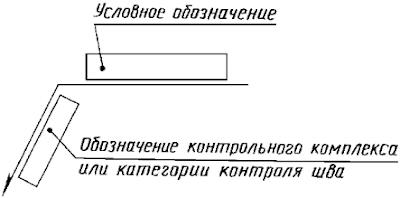 ГОСТ 2.312-72 ЕСКД. Условные изображения и обозначения швов сварных соединений. Черт. 9