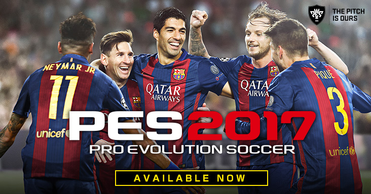 Download Unlocked PES 2017 For PC Users