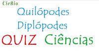 Exercícios sobre Quilópodes e Diplópodes