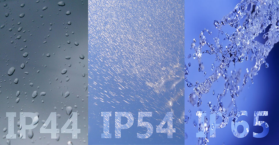 How are waterproof and dustproof standards?
