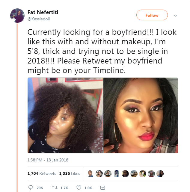 This Stunning Lady Is In Search Of A Boyfriend On Twitter (Pictures)