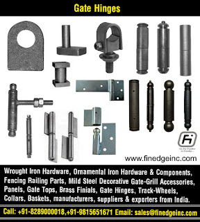 ornamental iron hardware manufacturers exporters suppliers India http://www.finedgeinc.com +91-8289000018, +91-9815651671