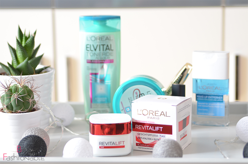 Unboxing 40 Jahre LOreal Box Revita Lift Tagescreme
