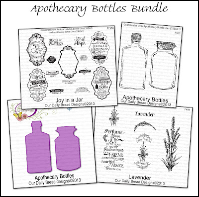 Stamps - Our Daily Bread Designs Apothecary Bottles Bundle