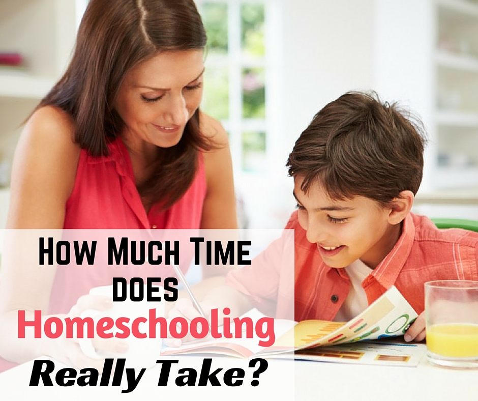 mom and child homeschooling